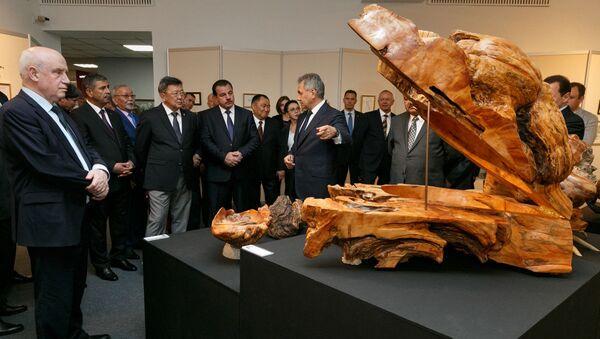 トゥヴァ共和国でショイグ国防相が制作した芸術作品の展覧会が開幕 - Sputnik 日本