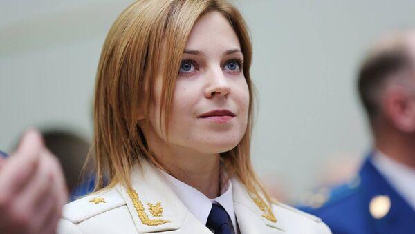 """Svoji obrovskou popularitu Poklonskaja přijímá neutrálně: """"Bylo by lepší, kdyby lidé ocenili moji práci. - Sputnik 日本"""