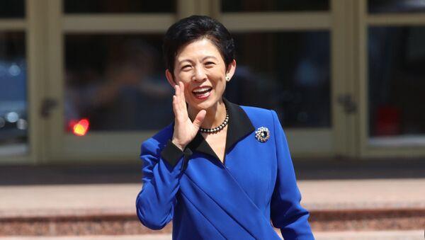 Принцесса Японии Хисако Такамадо в Саранске - Sputnik 日本