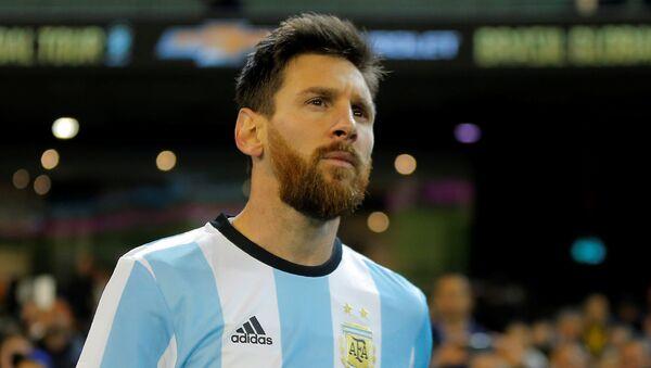 Lionel Messi, futbolista argentino - Sputnik 日本