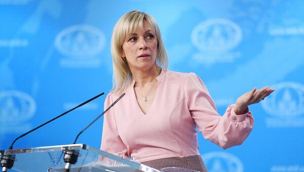 María Zajárova, la portavoz del Ministerio de Exteriores de Rusia - Sputnik 日本