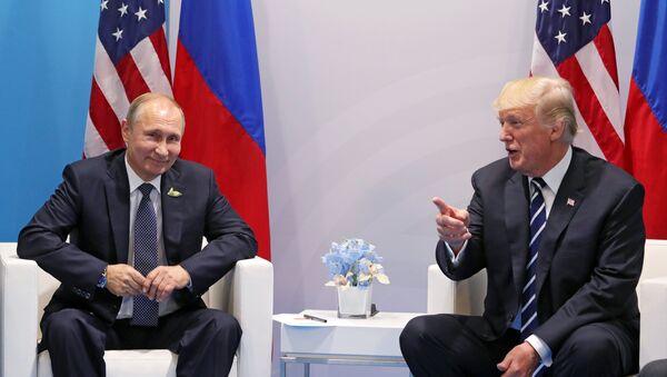 プーチン・トランプ両大統領の会談(アーカイブ) - Sputnik 日本