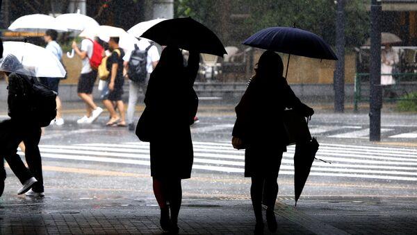 日本、雨(アーカイブ写真) - Sputnik 日本