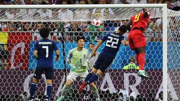 試合でプレーする選手たち - Sputnik 日本