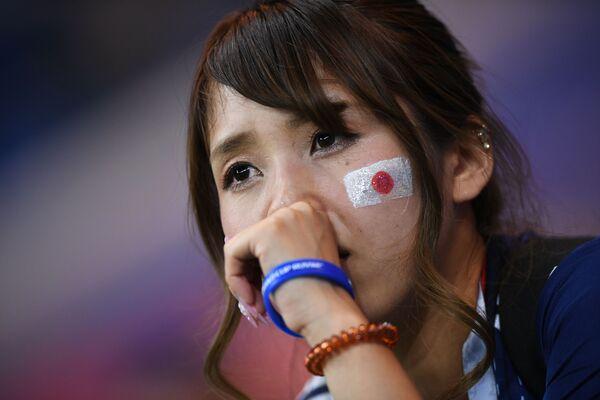 試合終了後の日本代表ファン - Sputnik 日本