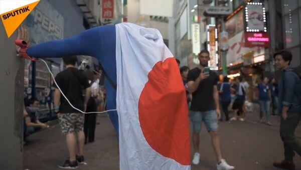 勝利は目の前だった:ベルギーに惜敗後の日本人サポーター - Sputnik 日本