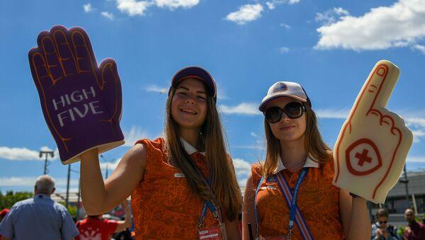 Волонтеры чемпионата мира по футболу - Sputnik 日本