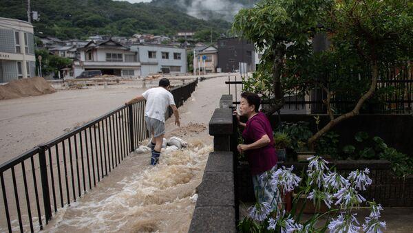 西日本豪雨(7月8日の写真) - Sputnik 日本