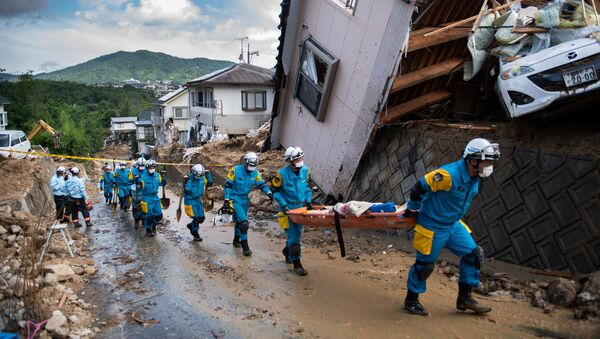西日本豪雨で223人が死者 14人が安否不明 - Sputnik 日本