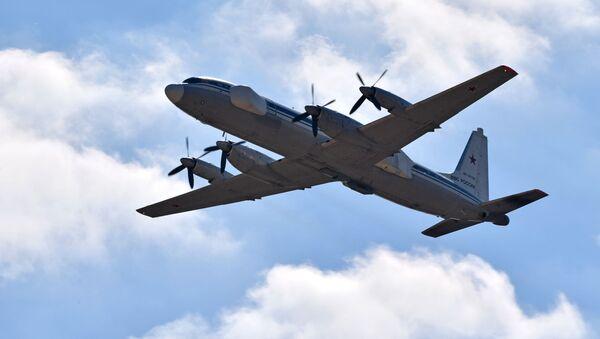 Самолет-постановщик помех Ил-22ПП - Sputnik 日本