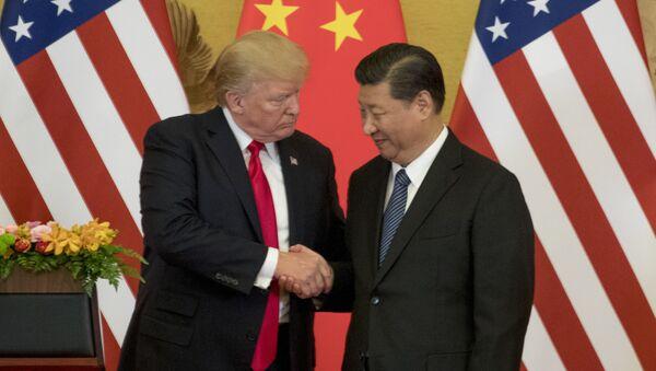 米中貿易協議 - Sputnik 日本