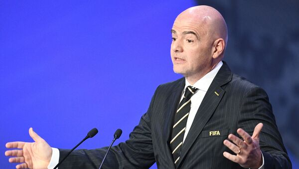 W杯ロシア大会は史上最高=FIFA会長 - Sputnik 日本
