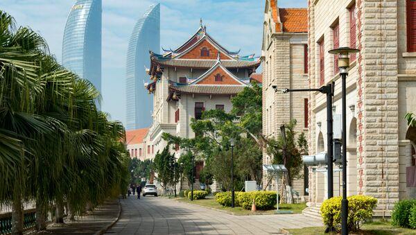 Vistas de Xiamen, una de las ciudades mas confotrables de China - Sputnik 日本