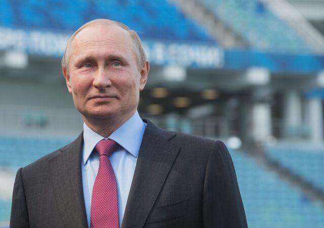 プーチン大統領(アーカイブ写真)