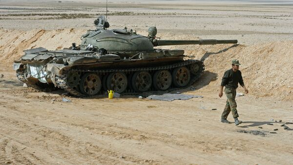 シリア反体制派、戦車を含む大量の武器を政府に引き渡す - Sputnik 日本