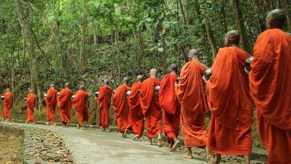 タイの仏僧 - Sputnik 日本