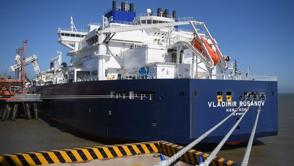 ロシアLNGタンカー、初めて中国に入港 - Sputnik 日本