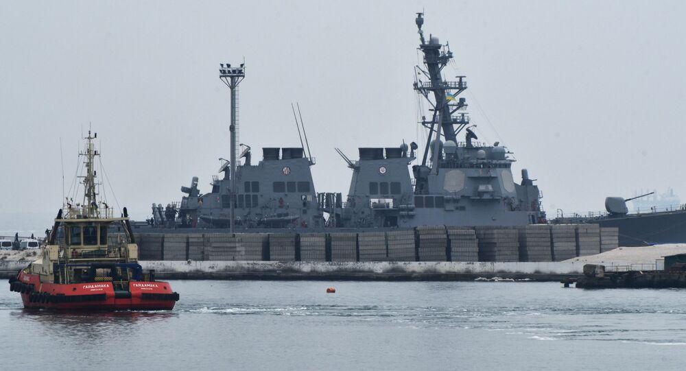 北大西洋条約機構(NATO)海軍艦隊がウクライナ・オデッサに寄港