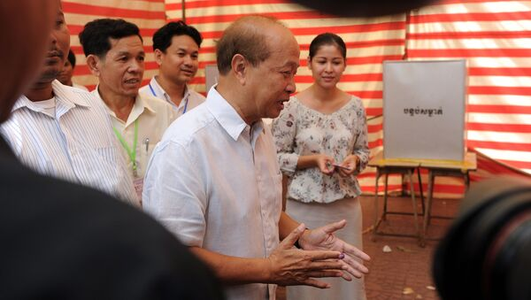 米国務省「カンボジア選挙は公正でなかった」 - Sputnik 日本