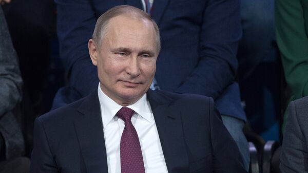 Russlands Präsident Wladimir Putin - Sputnik 日本