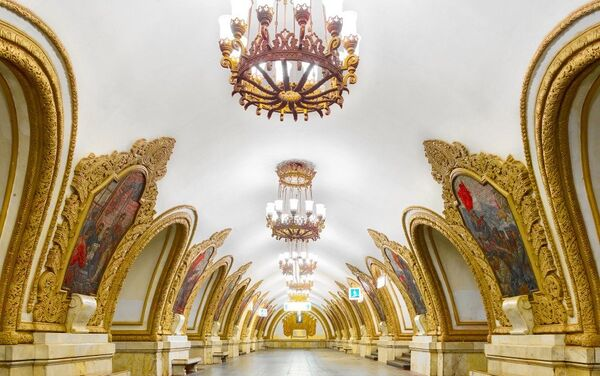 モスクワの地下鉄 - Sputnik 日本