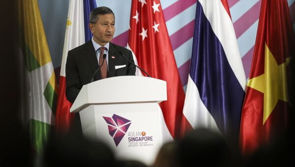 Министр иностранных дел Сингапура Вивиан Балакришнан - Sputnik 日本