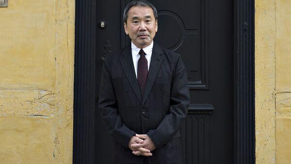 Японский писатель Харуки Мураками - Sputnik 日本
