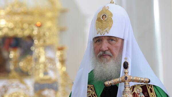 Patriarch Kirill - Sputnik 日本