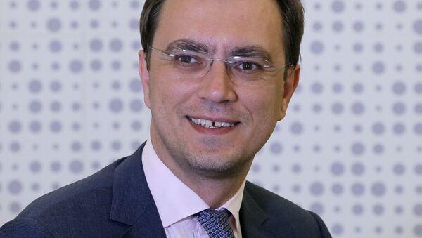 Министр инфраструктуры Украины Владимир Омелян - Sputnik 日本
