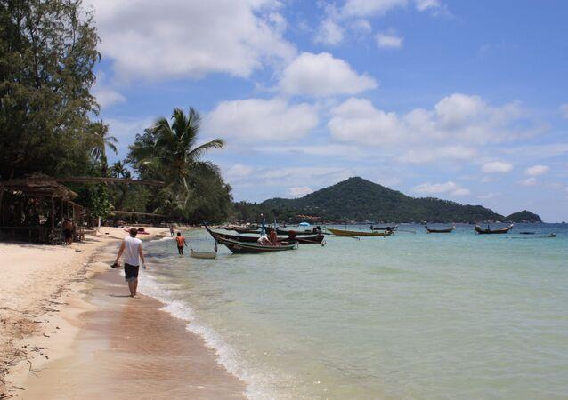 タオ島 タイ