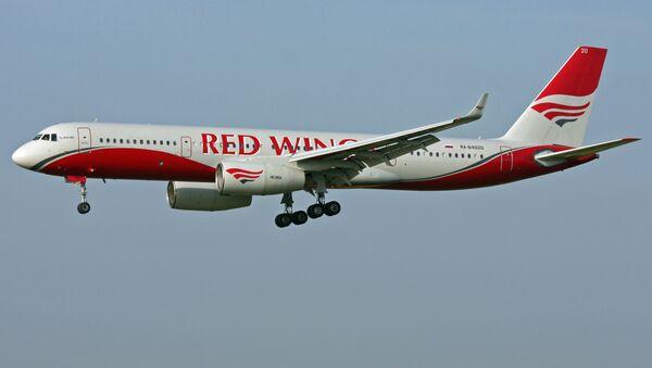 Самолет Ту-204 авиакомпании Red Wings. Архивное фото - Sputnik 日本