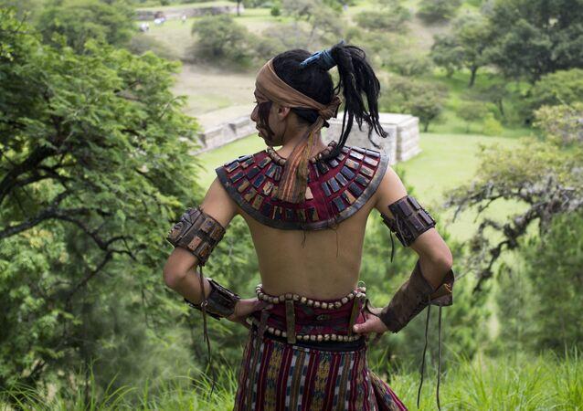 マヤ人の文明(アーカイブ写真)