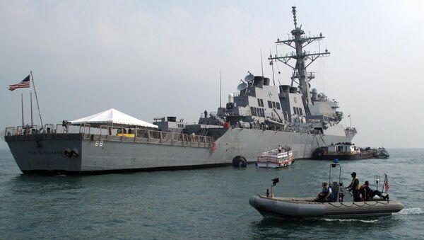 米駆逐艦「ザ・サリヴァンズ」 - Sputnik 日本