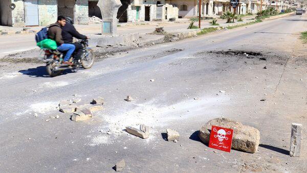 Ataque químico en Jan Sheijun, Idlib - Sputnik 日本