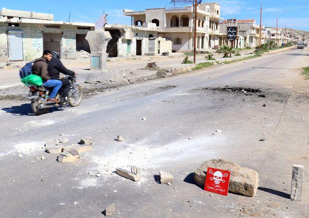 シリア・イドリブ県(アーカイブ写真)