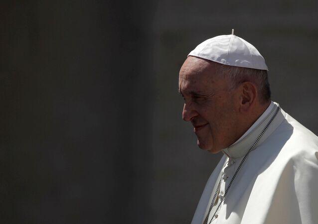 ローマ法王フランシスコ(アーカイブ写真)