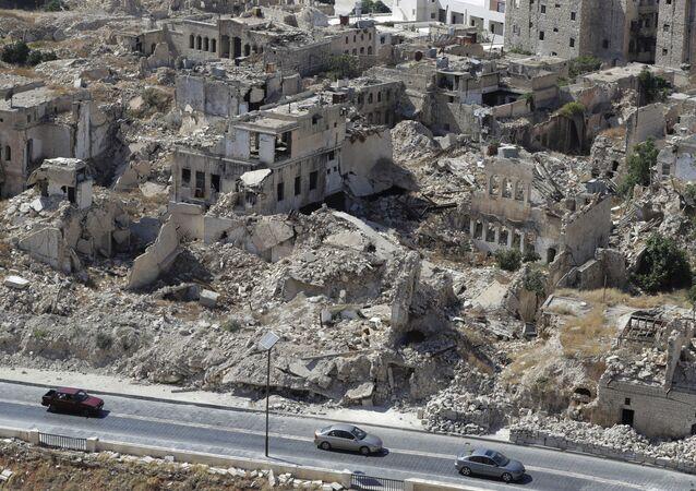 ロシア、英情報機関がシリアで化学兵器攻撃を準備しているとして非難