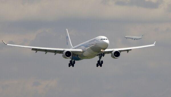Презентация самолета Airbus А330-300 ОАО Владивосток Авиа в аэропорту Внуково - Sputnik 日本