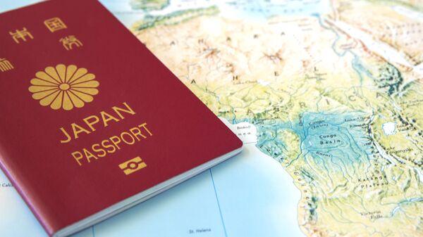 日本のパスポート(アーカイブ写真) - Sputnik 日本
