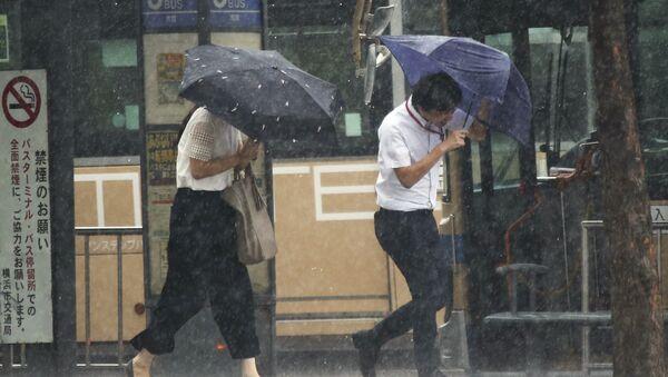 台風 (資料写真) - Sputnik 日本