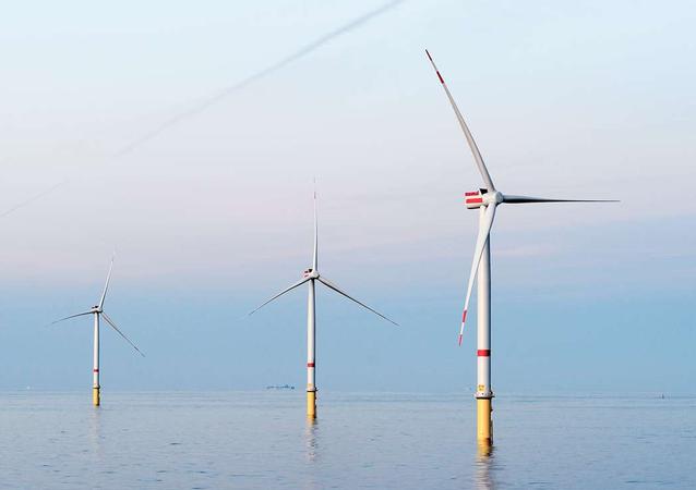 世界最大の洋上風力発電所