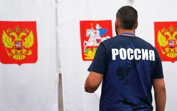 ロシア、地方統一選の投票開始 - Sputnik 日本