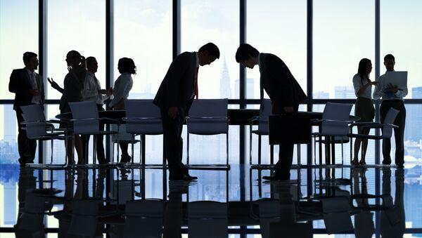 Офисные работники в Японии - Sputnik 日本