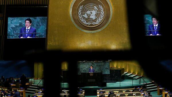 国連安倍演説 新たな課題、旧態依然のアプローチ - Sputnik 日本