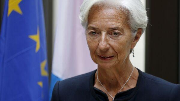 国際通貨基金(IMF) のラガルド専務理事 - Sputnik 日本