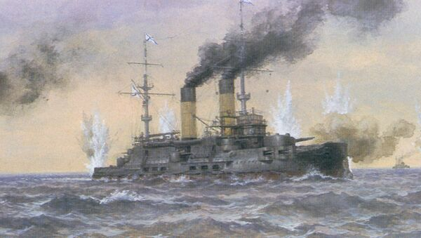 対馬沖海戦 - Sputnik 日本
