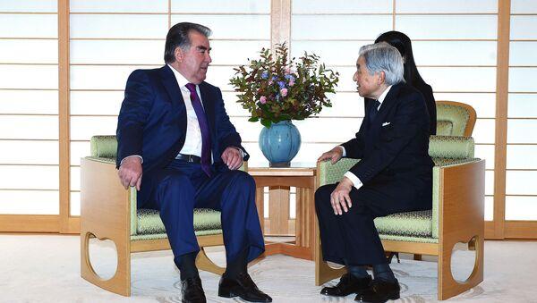 タジキスタン大統領 訪日で明仁天皇と関係発展を懇談 - Sputnik 日本