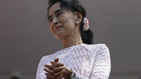ミャンマーのアウン・サン・スー・チー国家顧問兼外相 - Sputnik 日本