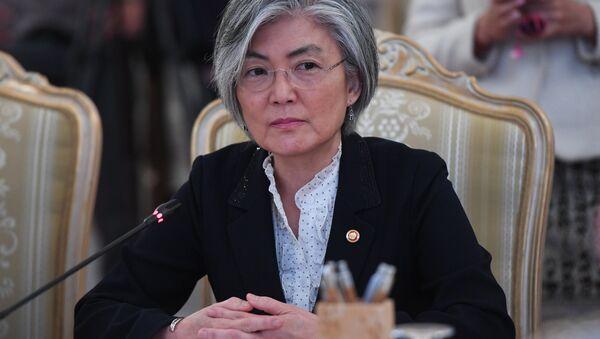 韓国の康京和外相(アーカイブ写真) - Sputnik 日本