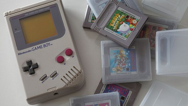 Un Nintendo Game Boy - Sputnik 日本